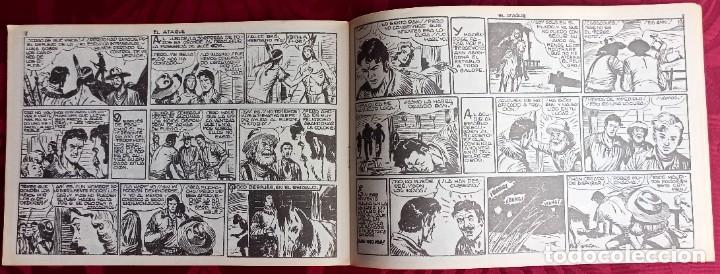 Tebeos: El TERREMOTO de Dan Barry - Original - Año 1954 - Núm. 21 - El Ataque - Buen estado de conservacion - Foto 3 - 251542815