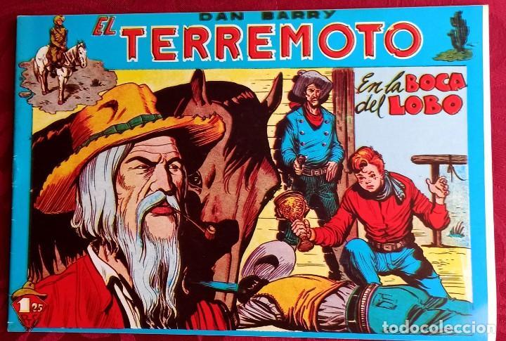 EL TERREMOTO DE DAN BARRY - ORIGINAL - AÑO 1954 - NÚM. 24 - EN LA BOCA DEL LOBO - BUEN ESTADO (Tebeos y Comics - Maga - Apache)
