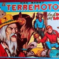 Tebeos: EL TERREMOTO DE DAN BARRY - ORIGINAL - AÑO 1954 - NÚM. 24 - EN LA BOCA DEL LOBO - BUEN ESTADO. Lote 251542920