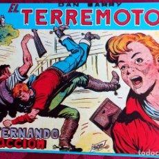 Tebeos: EL TERREMOTO DE DAN BARRY - ORIGINAL - AÑO 1954 - NÚM. 25 - FERNANDO EN ACCION - BUEN ESTADO. Lote 251543035