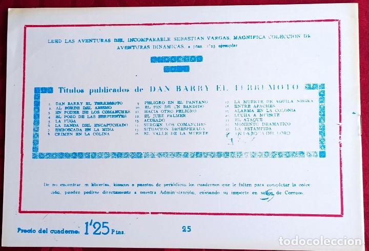 Tebeos: El TERREMOTO de Dan Barry - Original - Año 1954 - Núm. 25 - Fernando en accion - Buen estado - Foto 2 - 251543035