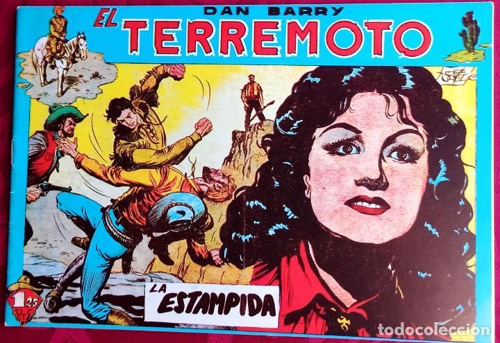 EL TERREMOTO DE DAN BARRY - ORIGINAL - AÑO 1954 - NÚM. 23 - LA ESTAMPIDA - BUEN ESTADO (Tebeos y Comics - Maga - Apache)