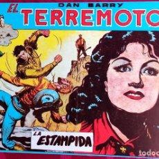 Tebeos: EL TERREMOTO DE DAN BARRY - ORIGINAL - AÑO 1954 - NÚM. 23 - LA ESTAMPIDA - BUEN ESTADO. Lote 251543150