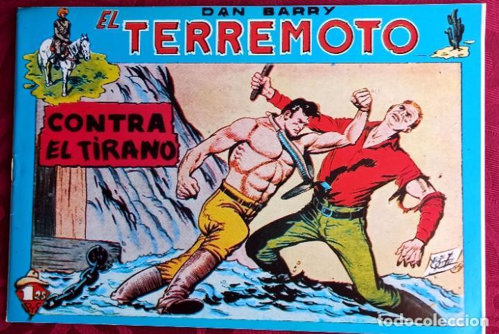 EL TERREMOTO DE DAN BARRY - ORIGINAL - AÑO 1954 - NÚM. 26 - CONTRA EL TIRANO - BUEN ESTADO (Tebeos y Comics - Maga - Apache)
