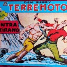 Tebeos: EL TERREMOTO DE DAN BARRY - ORIGINAL - AÑO 1954 - NÚM. 26 - CONTRA EL TIRANO - BUEN ESTADO. Lote 251543300