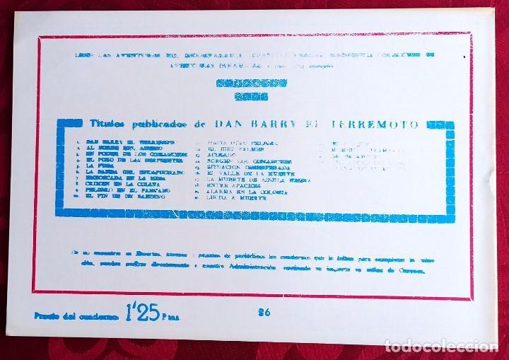 Tebeos: El TERREMOTO de Dan Barry - Original - Año 1954 - Núm. 26 - Contra el tirano - Buen estado - Foto 2 - 251543300