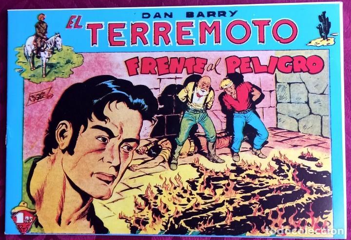 EL TERREMOTO DE DAN BARRY - ORIGINAL - AÑO 1954 - NÚM. 28 - FRENTE AL PELIGRO - BUEN ESTADO (Tebeos y Comics - Maga - Apache)