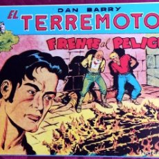 Tebeos: EL TERREMOTO DE DAN BARRY - ORIGINAL - AÑO 1954 - NÚM. 28 - FRENTE AL PELIGRO - BUEN ESTADO. Lote 251543510