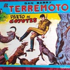 Livros de Banda Desenhada: EL TERREMOTO DE DAN BARRY - ORIGINAL - AÑO 1954 - NÚM. 53 - PASTO DE COYOTES - BUEN ESTADO. Lote 251543680