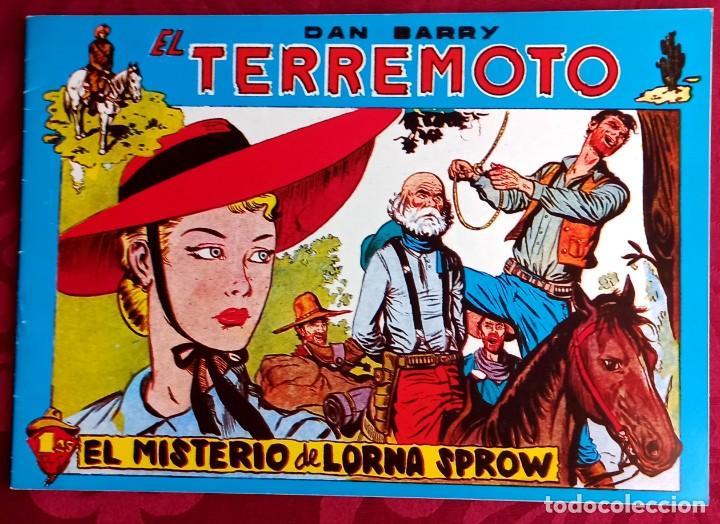 EL TERREMOTO DE DAN BARRY - ORIGINAL - AÑO 1954 - NÚM. 54 - EL MISTERIO DE LORNA SPROW - BUEN ESTADO (Tebeos y Comics - Maga - Apache)