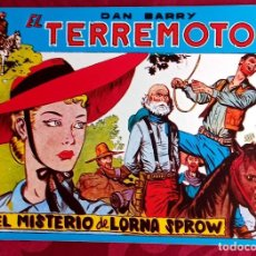 Tebeos: EL TERREMOTO DE DAN BARRY - ORIGINAL - AÑO 1954 - NÚM. 54 - EL MISTERIO DE LORNA SPROW - BUEN ESTADO. Lote 251544770