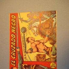Tebeos: CRUZADO NEGRO, EL (1961, MAGA) 35 · 27-XII-1961 · UN ALIADO PODEROSO. Lote 251691490