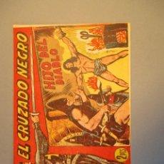 Tebeos: CRUZADO NEGRO, EL (1961, MAGA) 29 · 15-XI-1961 · HIJO DEL DIABLO. Lote 251697005