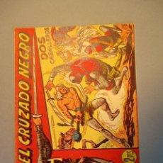 Tebeos: CRUZADO NEGRO, EL (1961, MAGA) 22 · 27-IX-1961 · DOS CABALLEROS. Lote 251716795