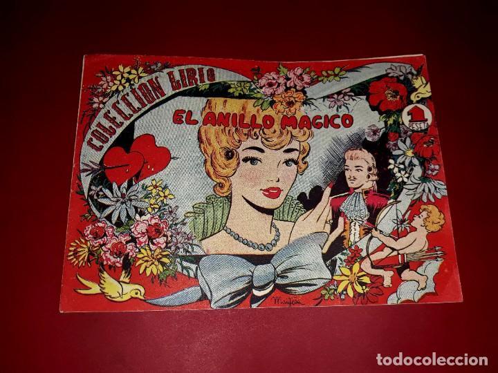 EL ANILLO MÁGICO COLECCIÓN LIRIO Nº 6 EDITORIAL MAGA 1956 (Tebeos y Comics - Maga - Otros)