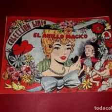 Tebeos: EL ANILLO MÁGICO COLECCIÓN LIRIO Nº 6 EDITORIAL MAGA 1956. Lote 252363750