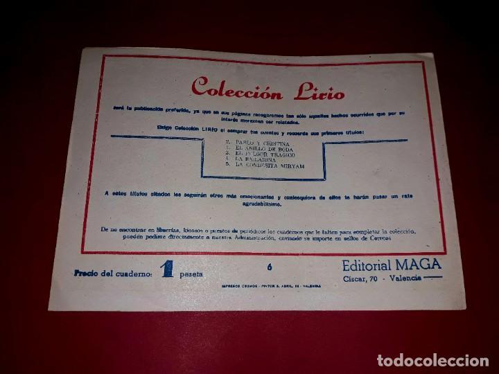 Tebeos: El Anillo Mágico Colección Lirio Nº 6 Editorial Maga 1956 - Foto 2 - 252363750