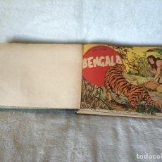 Tebeos: BENGALA MAGA AÑO 1959 COLECCIÓN COMPLETA 54 EJEMPLARES ENCUADERNADOS EN UN TOMO.. Lote 252530750
