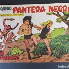 Tebeos: PANTERA NEGRA / PEQUEÑO PANTERA NEGRA (1956, MAGA) 201 · 28-VI-1961 · FUGA IMPOSIBLE. Lote 252551370