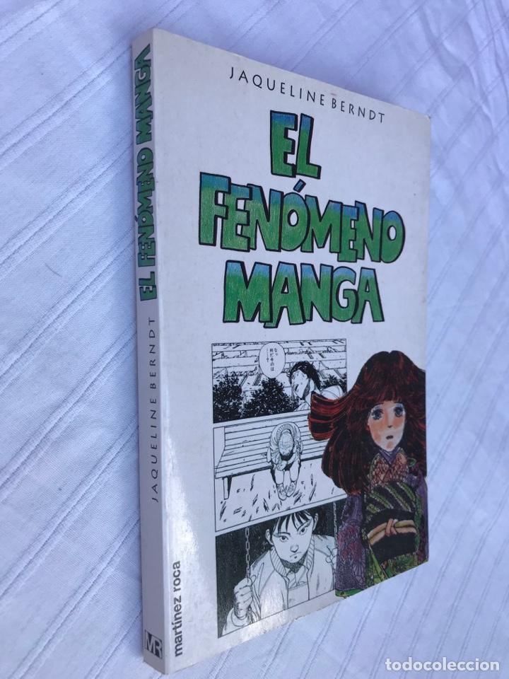 Tebeos: El fenómeno Manga, jaqueline Bernat, ed. Martinez Roca 1996 - Foto 2 - 252630745