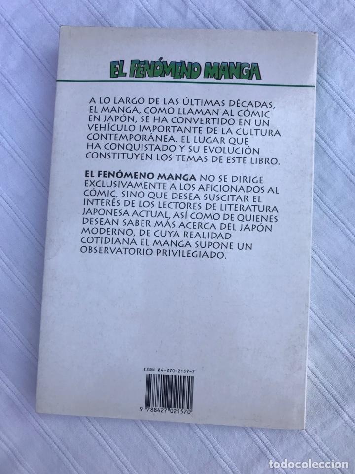 Tebeos: El fenómeno Manga, jaqueline Bernat, ed. Martinez Roca 1996 - Foto 5 - 252630745