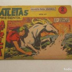 Tebeos: AFRICA SERIE ATLETAS Nº 63 EDITORIAL MAGA 1964 ORIGINAL - DIBUJOS R.BOLUDA ARX87. Lote 252853005