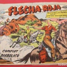 Tebeos: FLECHA ROJA Nº 77: COMPLOT DIABÓLICO. Lote 253526695