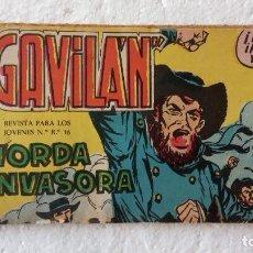 Tebeos: EL GAVILAN ORIGINAL Nº 17 - EXCELENTE ESTADO - ANTONIO GUERRERO 1959 - MAGA. Lote 254192965