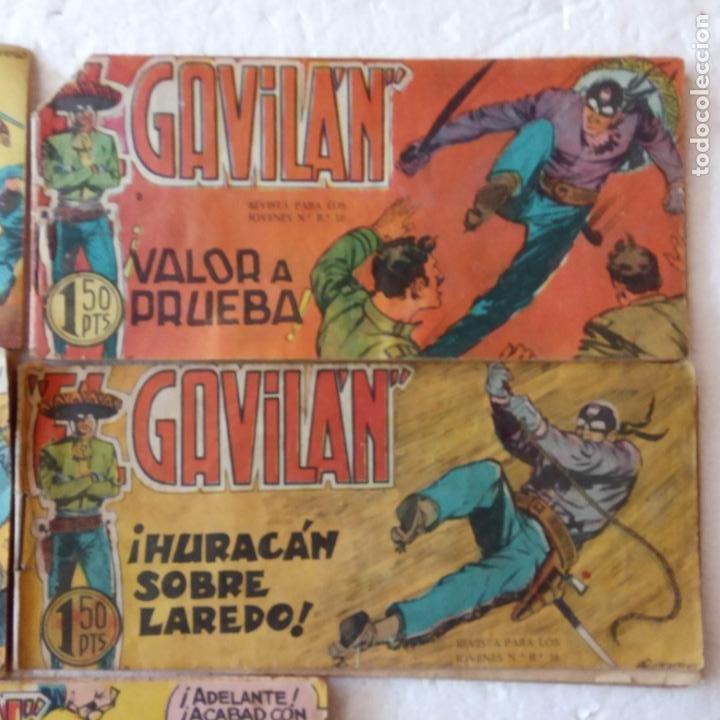 Tebeos: EL GAVILÁN ORIGINALES MAGA 1959 - NºS - 7,8,9,17,20 - Foto 4 - 254193365