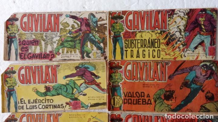 Tebeos: EL GAVILÁN ORIGINALES MAGA 1959 - NºS - 2,4,7,8,9,11,14,17,18,20,24 ANTONIO GUERRERO DIBUJOS - Foto 2 - 254194015