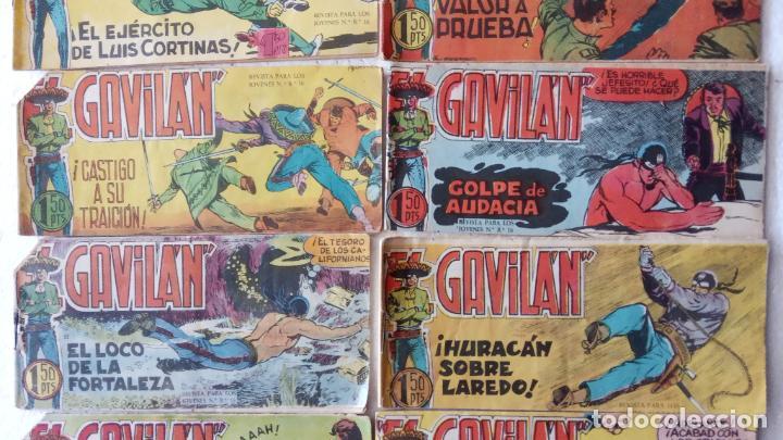 Tebeos: EL GAVILÁN ORIGINALES MAGA 1959 - NºS - 2,4,7,8,9,11,14,17,18,20,24 ANTONIO GUERRERO DIBUJOS - Foto 3 - 254194015