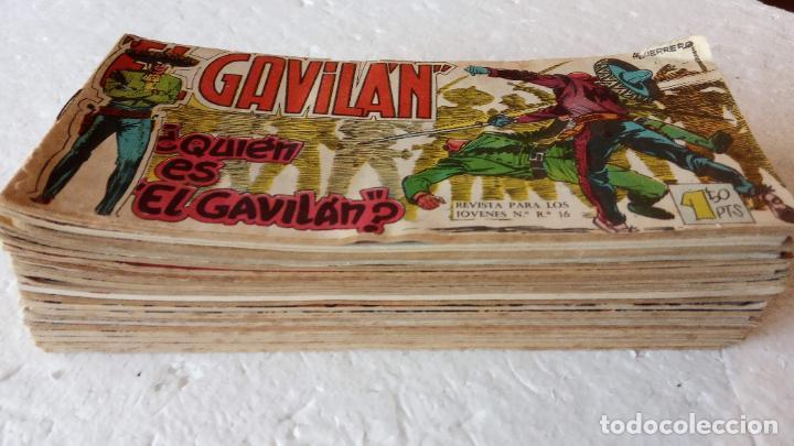 Tebeos: EL GAVILÁN ORIGINALES MAGA 1959 - NºS - 2,4,7,8,9,11,14,17,18,20,24 ANTONIO GUERRERO DIBUJOS - Foto 4 - 254194015