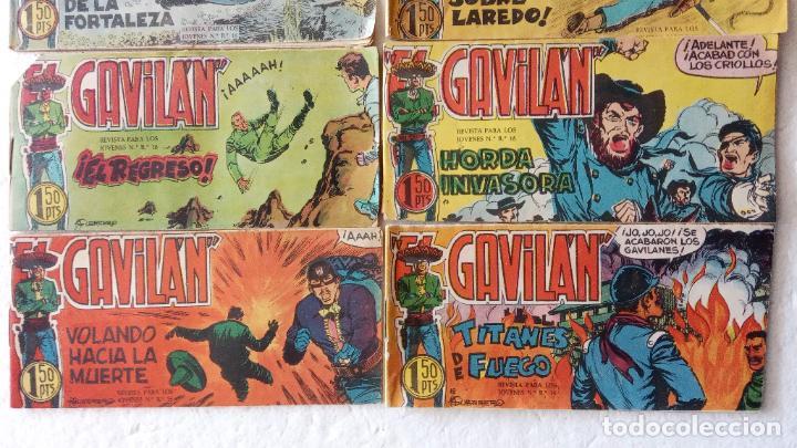 Tebeos: EL GAVILÁN ORIGINALES MAGA 1959 - NºS - 2,4,7,8,9,11,14,17,18,20,24 ANTONIO GUERRERO DIBUJOS - Foto 5 - 254194015