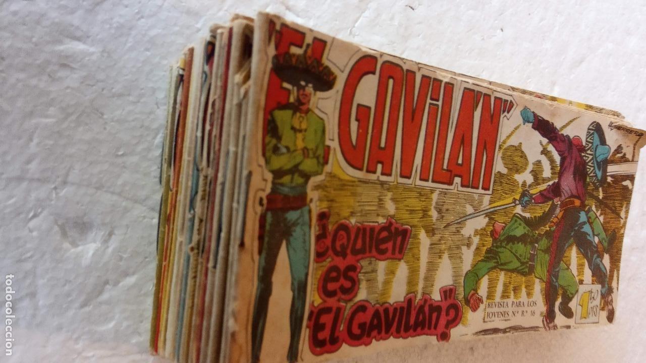 Tebeos: EL GAVILÁN ORIGINALES MAGA 1959 - NºS - 2,4,7,8,9,11,14,17,18,20,24 ANTONIO GUERRERO DIBUJOS - Foto 6 - 254194015