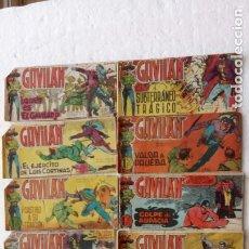 Tebeos: EL GAVILÁN ORIGINALES MAGA 1959 - NºS - 2,4,7,8,9,11,14,17,18,20,24 ANTONIO GUERRERO DIBUJOS. Lote 254194015
