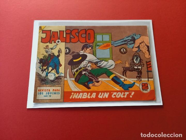 JALISCO Nº 11 - BRUGUERA -ORIGINAL-LEER ESTADO- (Tebeos y Comics - Maga - Otros)
