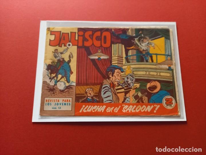 JALISCO Nº 13 - BRUGUERA -ORIGINAL-LEER ESTADO- (Tebeos y Comics - Maga - Otros)