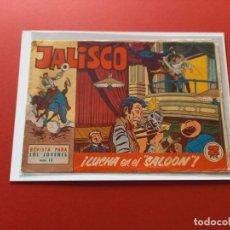 Tebeos: JALISCO Nº 13 - BRUGUERA -ORIGINAL-LEER ESTADO-. Lote 254867475