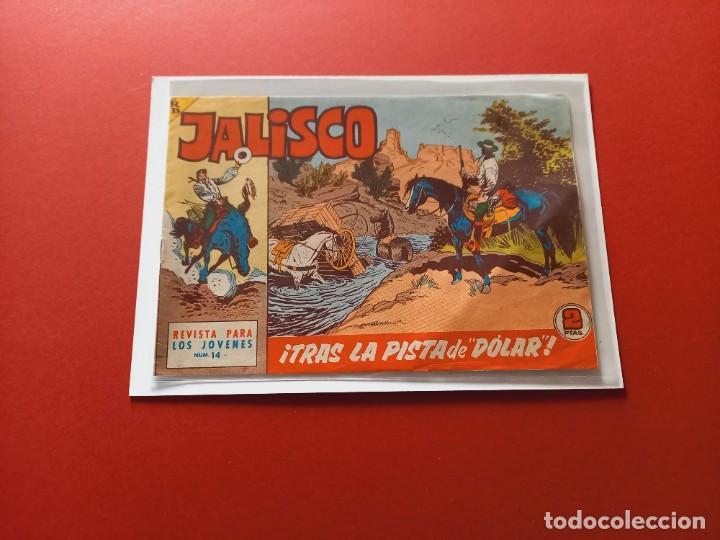 JALISCO Nº 14 - BRUGUERA -ORIGINAL-LEER ESTADO- (Tebeos y Comics - Maga - Otros)