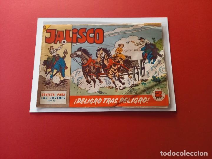 JALISCO Nº 15 - BRUGUERA -ORIGINAL-LEER ESTADO-NUMERO DIFICIL (Tebeos y Comics - Maga - Otros)