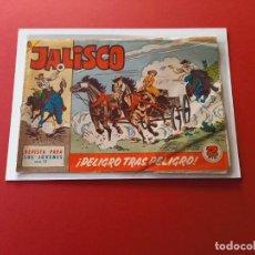 Tebeos: JALISCO Nº 15 - BRUGUERA -ORIGINAL-LEER ESTADO-NUMERO DIFICIL. Lote 254867745