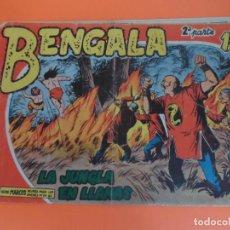 Tebeos: BENGALA 2ª PARTE Nº 11 EDITORIAL MAGA ORIGINAL. Lote 257447435