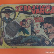 Tebeos: SEBASTIAN VARGAS Nº 19 EDITORIAL MAGA ORIGINAL. Lote 257447635