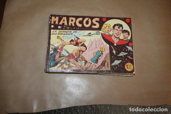 MARCOS , COLECCIÓN COMPLETA , ORIGINAL, EDITORIAL MAGA (Tebeos y Comics - Maga - Otros)