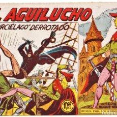 Tebeos: EL AGUILUCHO Nº: 61 (DE 68 DE LA COLECCIÓN COMPLETA) ED. MAGA, 1959-61. Lote 257861050