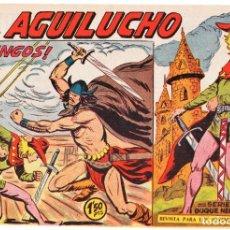 Tebeos: EL AGUILUCHO Nº: 62 (DE 68 DE LA COLECCIÓN COMPLETA) ED. MAGA, 1959-61. Lote 257861240