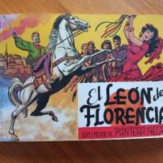 Tebeos: EL LEON DE FLORENCIA - SUPLEMENTO DE PANTERA NEGRA (W). Lote 259769670