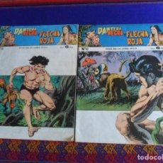 Tebeos: PANTERA NEGRA Y FLECHA ROJA NºS 82 Y 93. MAGA 1958. 6 PTS. BUEN ESTADO.. Lote 260564560
