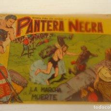 Tebeos: LA PANTERA NEGRA Nº 15 , LA MARCHA DE LA MUERTE, ORIGINAL. Lote 260648835