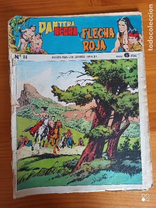 Tebeos: PANTERA NEGRA Y FLECHA ROJA CASI COMPLETA A FALTA DE LOS NUMEROS 79, 80 Y 81 - ORIGINAL - MAGA (AJ) - Foto 7 - 260831770